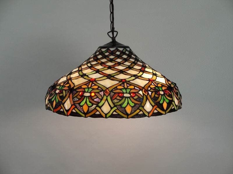Tiffany Stained Glass Ceiling Lights