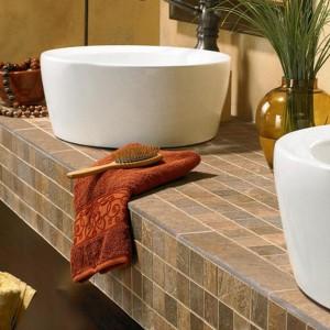 Tile Bathroom Countertop Diy