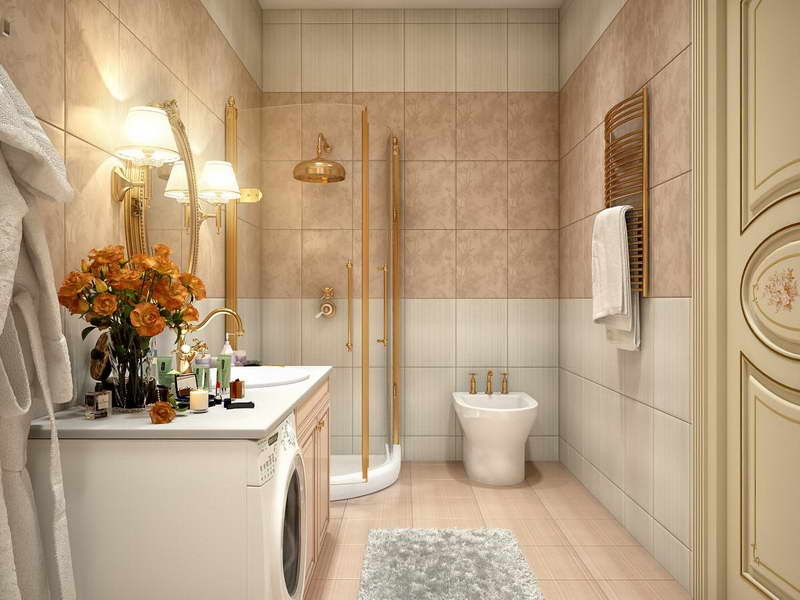 Tile Patterns For Small Bathrooms