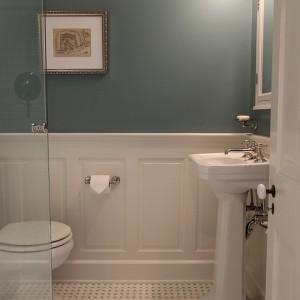 Tile Wainscot Bathroom