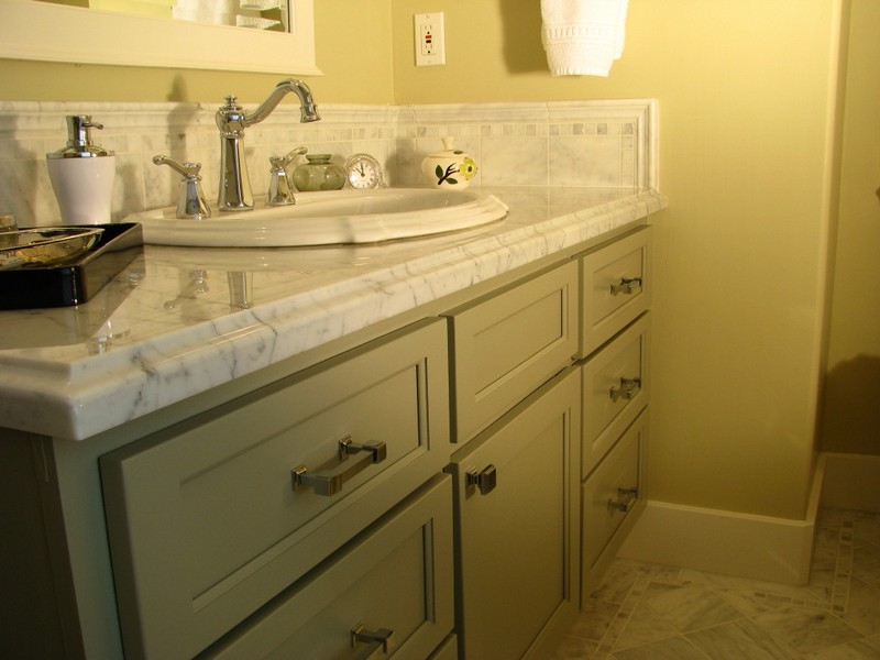 Tiled Bathroom Vanity Tops