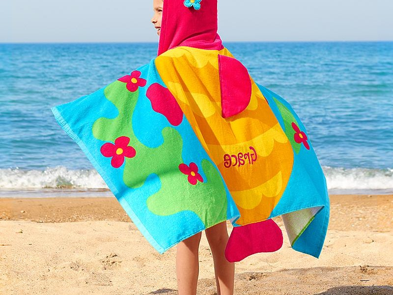 Toddler Beach Towels Personalized