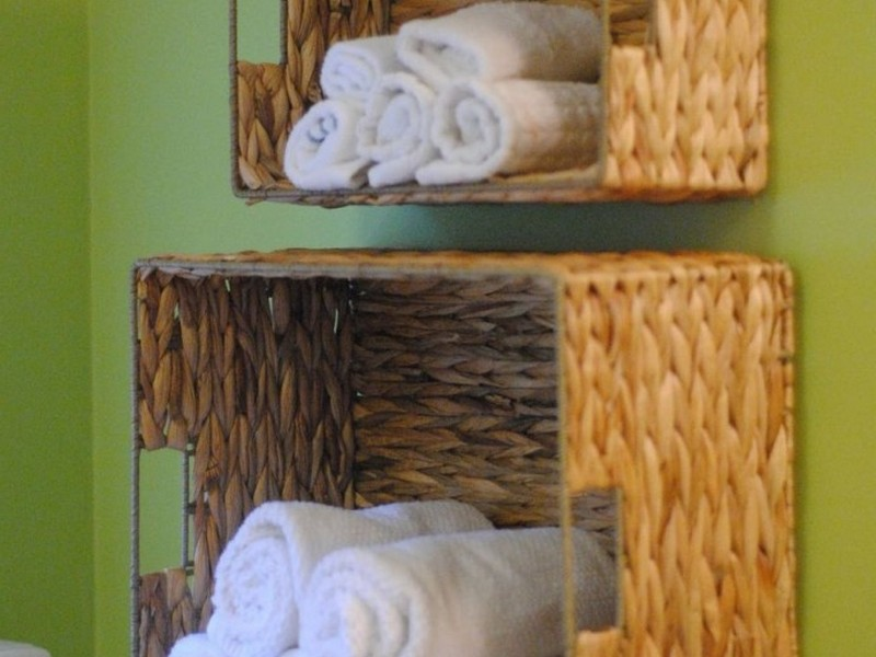 Towel Holder Ideas For The Bathroom