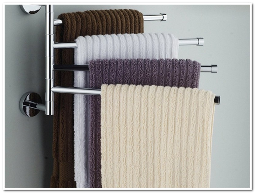 Towel Holders For Bathrooms Wall