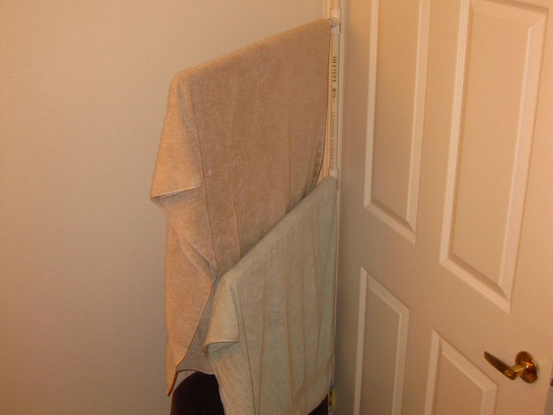 Towel Rack For Bathroom Door