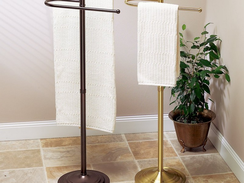 Towel Rack Stand For Bathroom