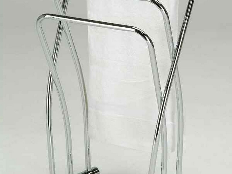 Towel Stands For Bathrooms Brushed Nickel