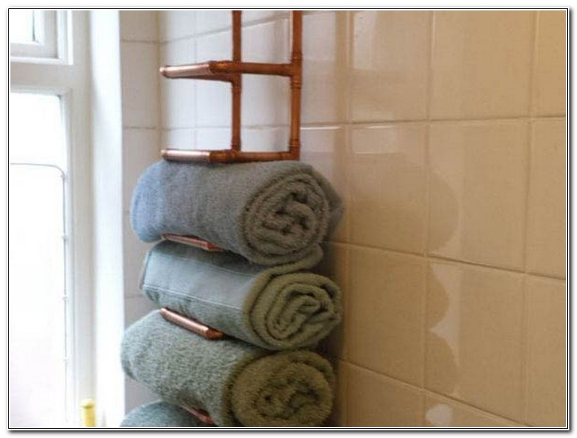 Towel Storage Racks For Bathrooms