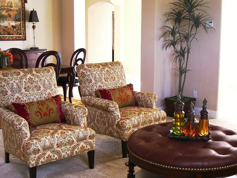 Traditional Armchairs For Living Room