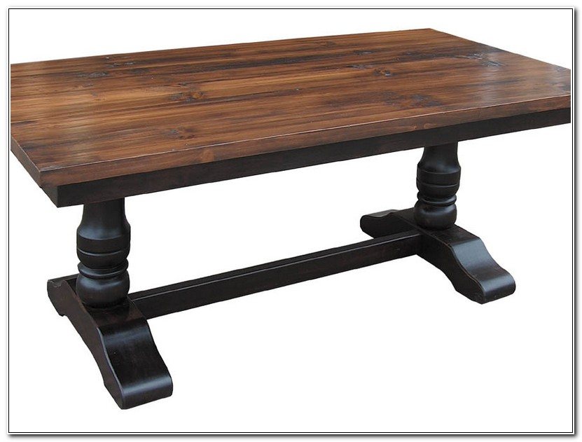 Trestle Farmhouse Dining Table