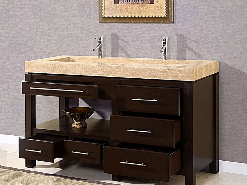 Trough Bathroom Sink Vanity