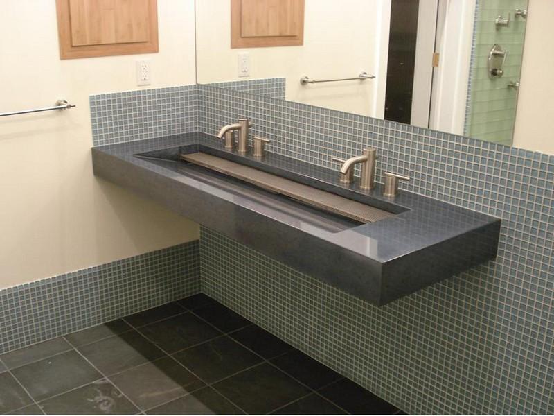 Trough Bathroom Sinks Canada
