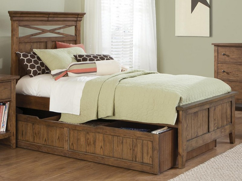 Trundle Bed Full Over Twin