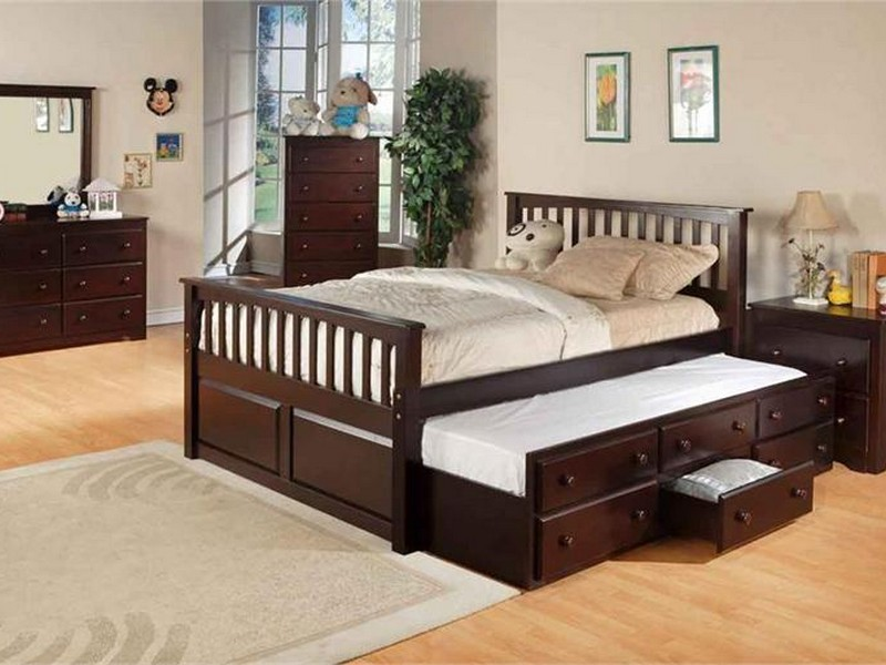 Trundle Bed Full