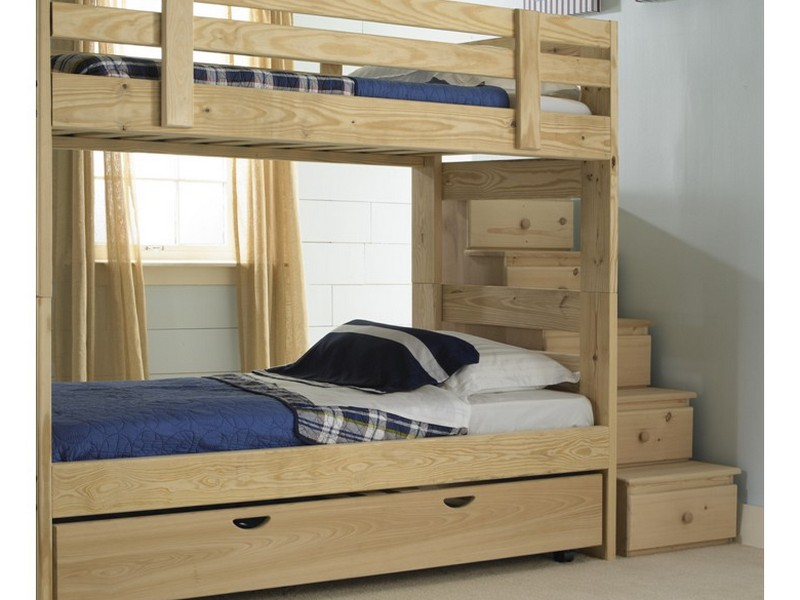 Trundle Bunk Beds With Stairs