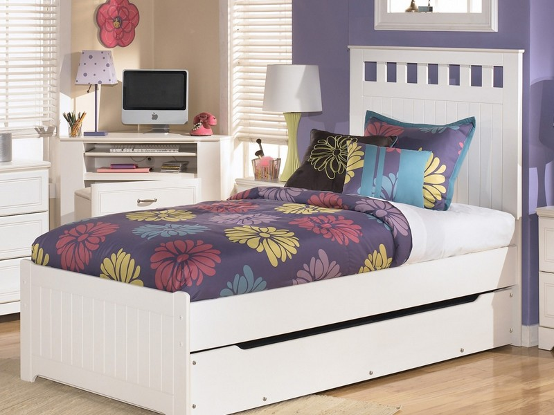 Trundle Twin Bed Frame