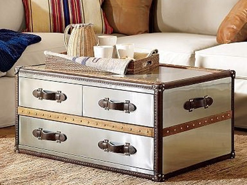 Trunk As Coffee Table