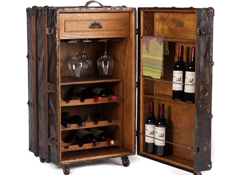 Trunk Bar Cabinet