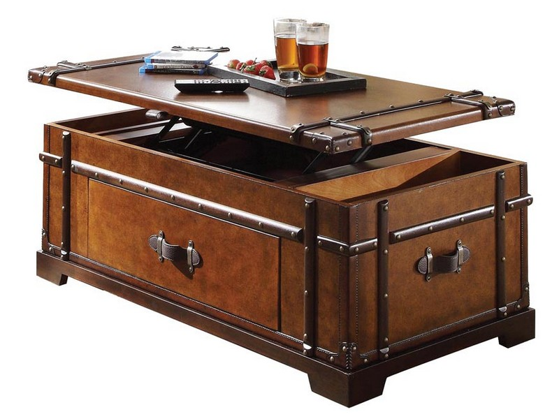 Trunk Coffee Table Set