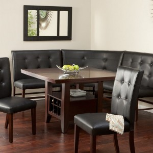Tufted Dining Room Bench