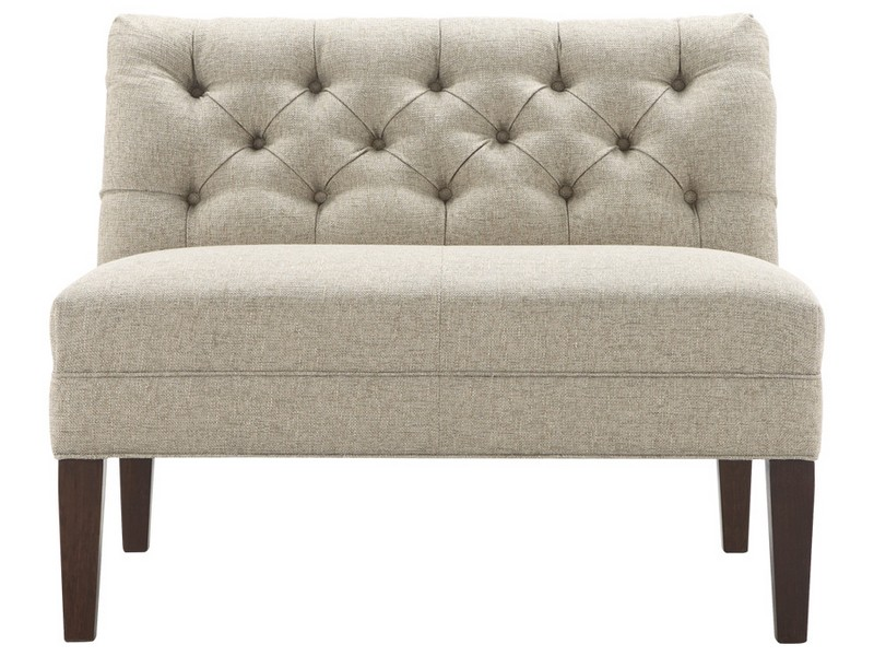 Tufted Settee Bench