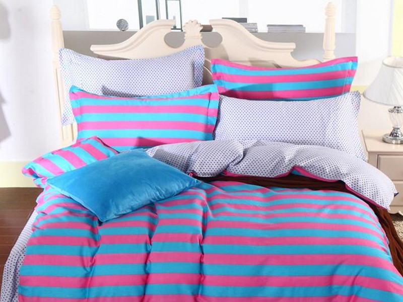 Turquoise Bed Skirt