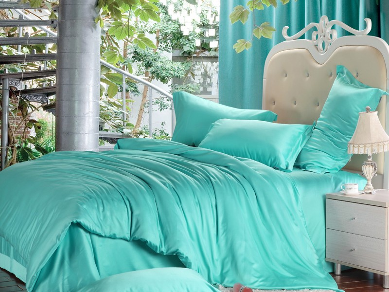 Turquoise Bedding King Size