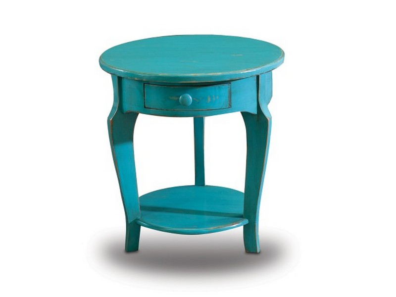 Turquoise End Tables