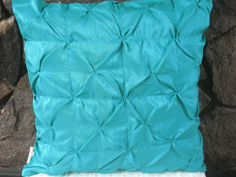 Turquoise Euro Pillow Shams