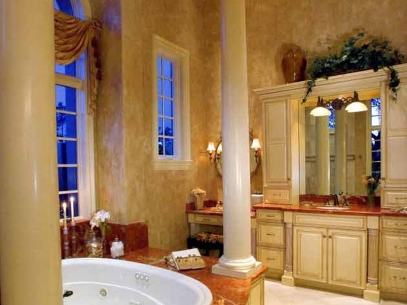 Tuscan Style Bathroom, Bathroom, Tuscan Style