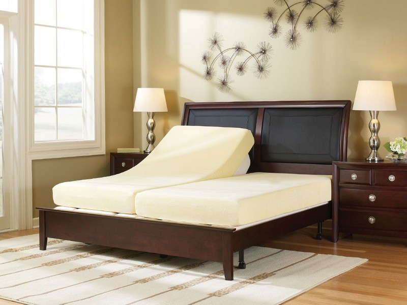 Twin Adjustable Bed And Mattress