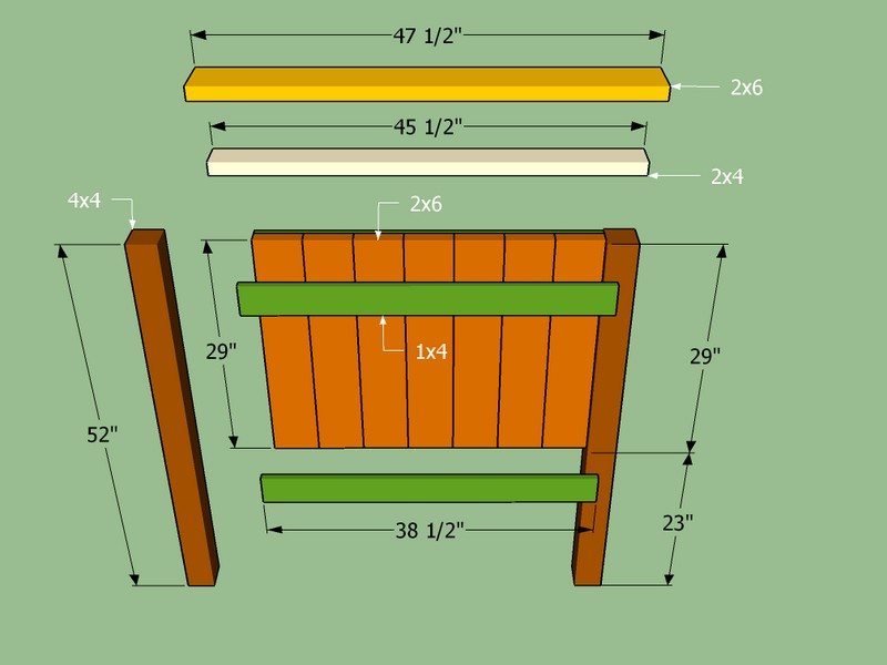 Twin Bed Headboard Plans Copy
