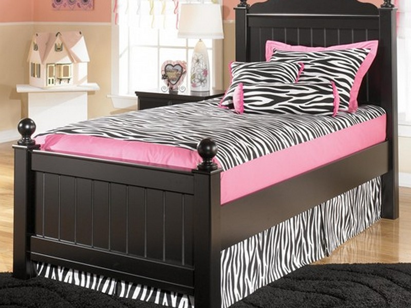 Twin Bed With Bookshelf Headboard
