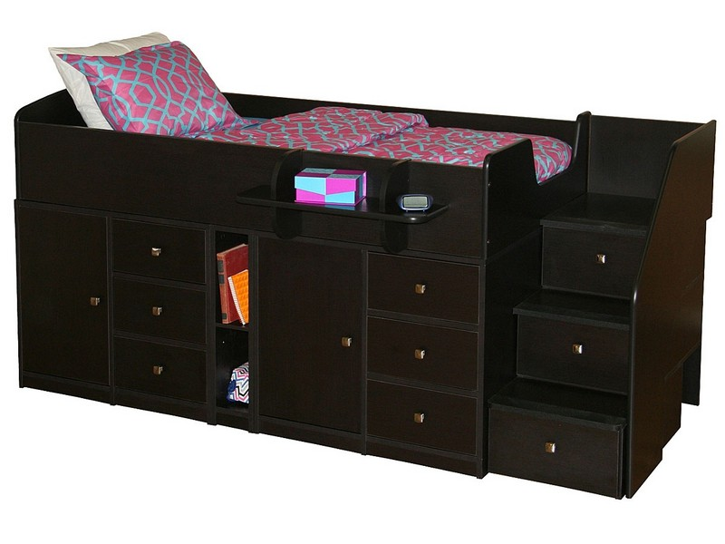 Twin Captain Bed With 3 Drawers