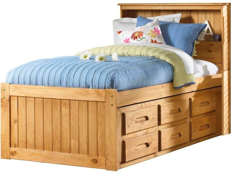 Twin Captain Beds With Drawers
