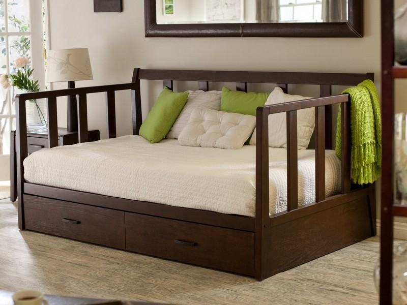 Twin Daybed With Trundle And Storage
