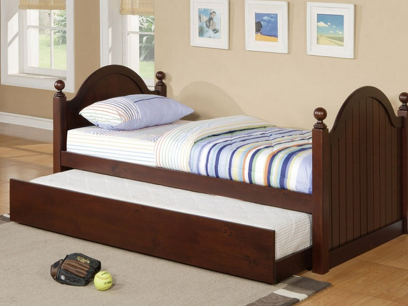Twin Mattress Frame With Trundle