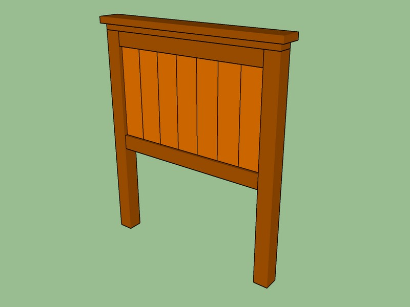 Twin Size Headboard Plans