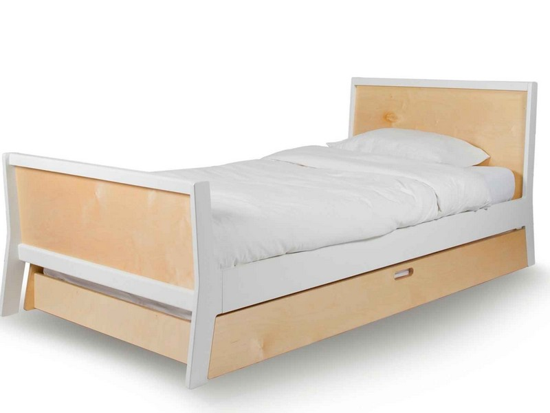 Twin Size Trundle Bed With Drawers