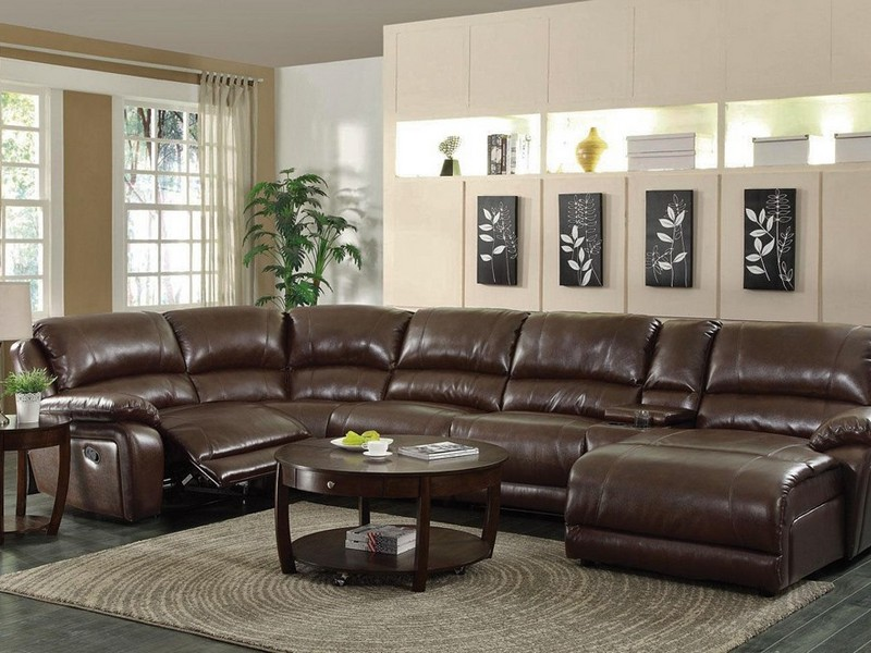 U Shaped Sectional With 2 Chaise