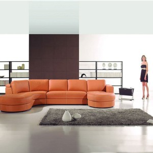 U Shaped Sectional With Chaise