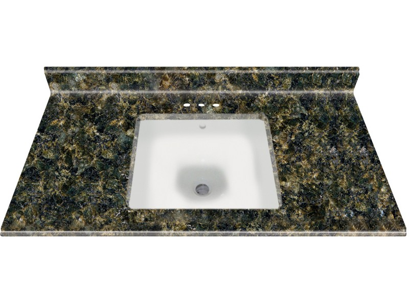 Uba Tuba Granite Bathroom Vanity