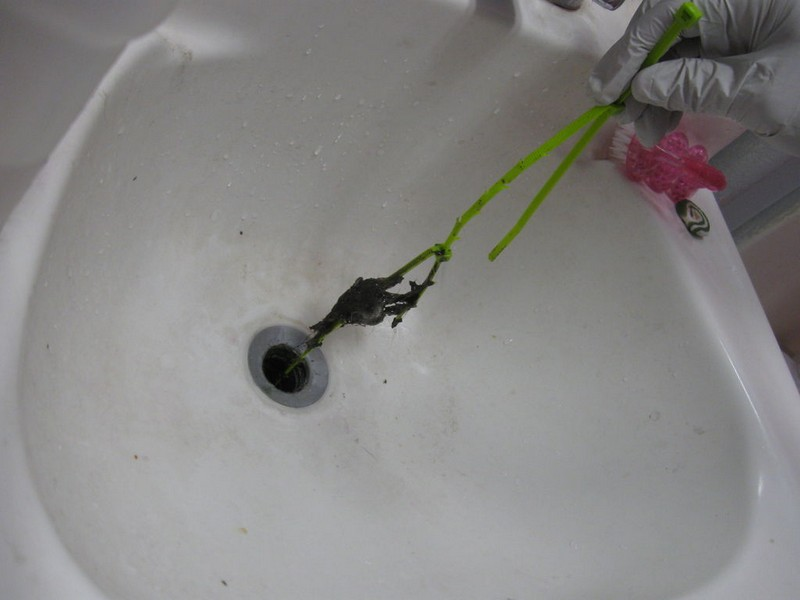 Unclog Bathroom Sink Drain Hair