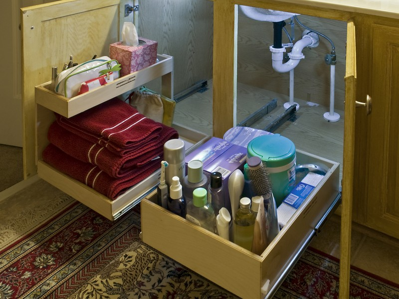 Under Bathroom Sink Storage Ideas