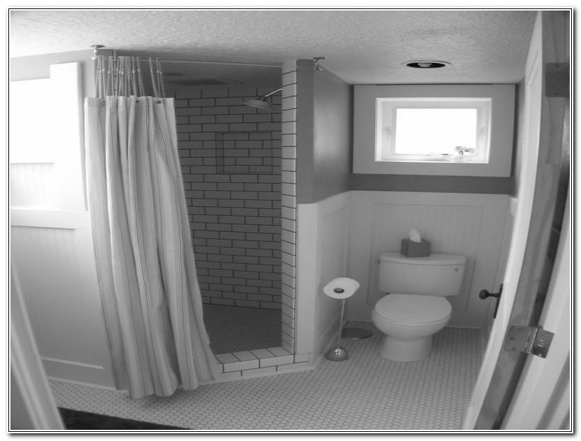Unfinished Basement Bathroom Ideas