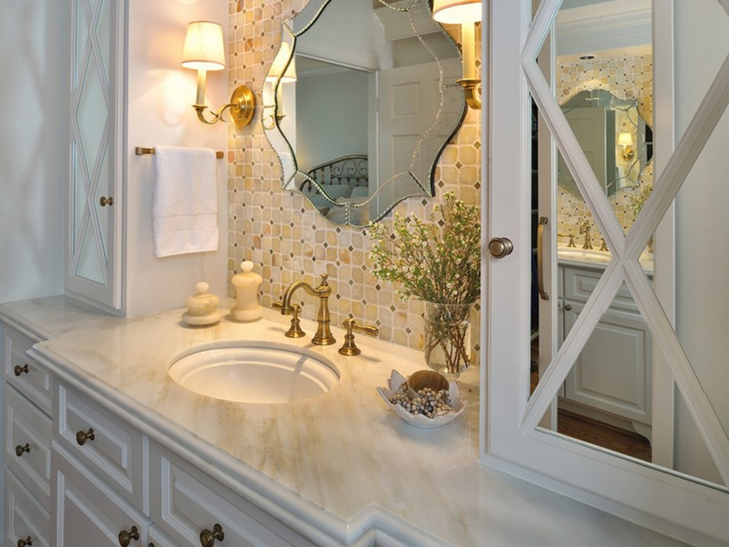 Unique Bathroom Vanity Mirrors