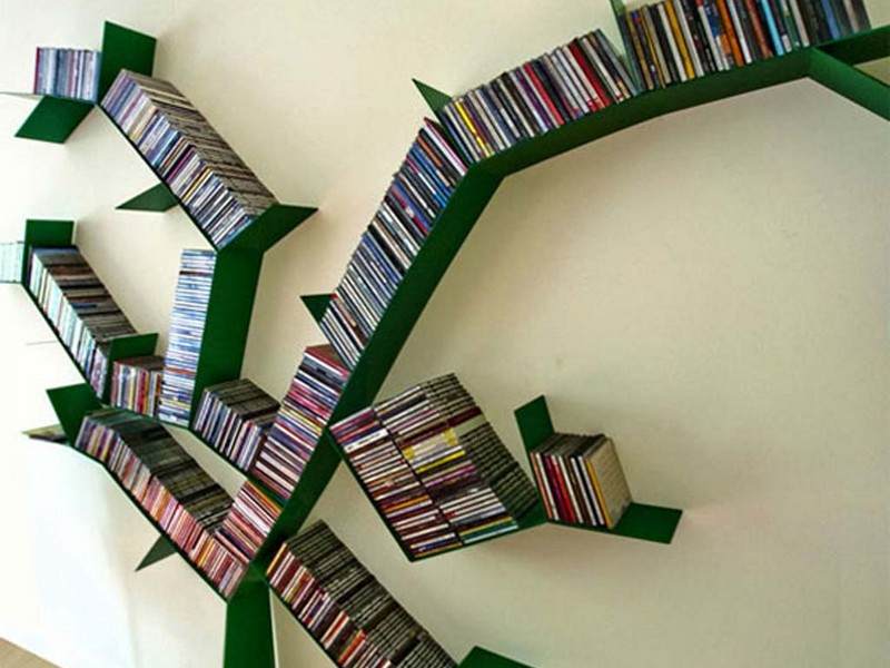 Unique Bookshelves Diy