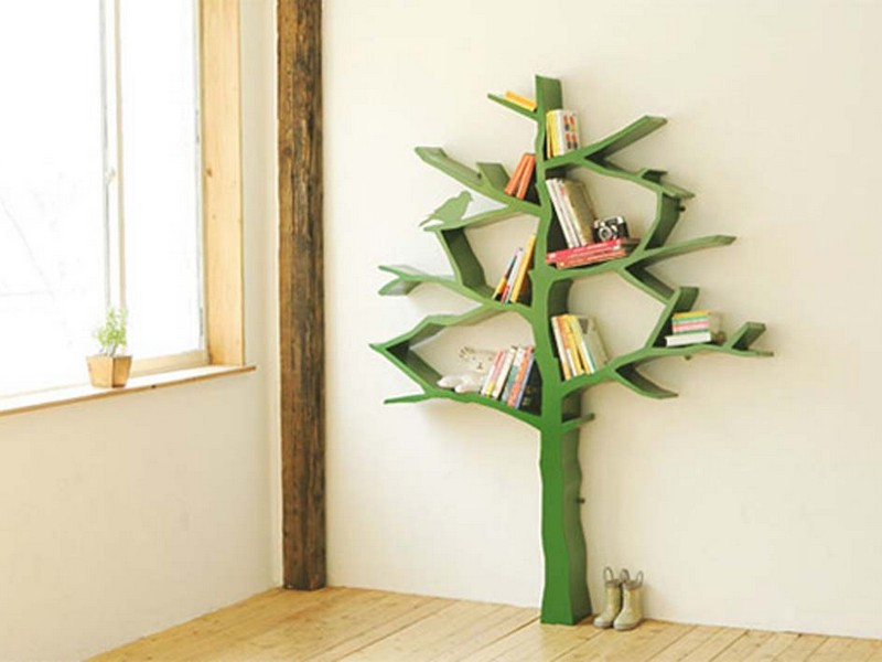 Unique Bookshelves For Kids
