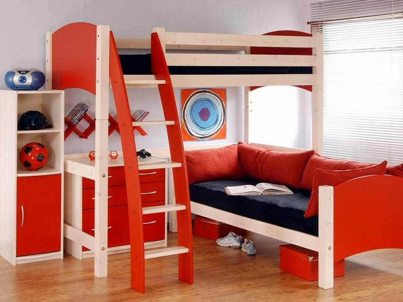 Unique Bunk Beds For Boys