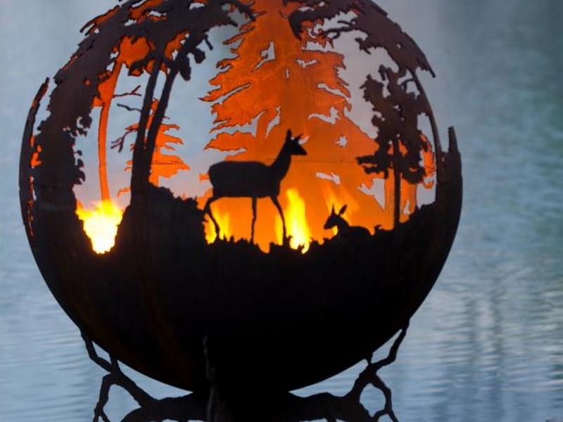 Unique Fire Pits By Melissa Crisp